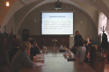Spotkanie w pałacu z gramatyką