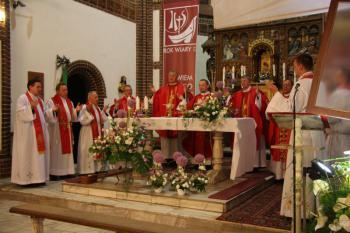 Peregrynacja Krzyża Wielkopiątkowego błogosławionego Jana Pawła II