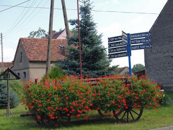 Chróścina - wyróżnienie w Konkursie Piękna Wieś Lewińska 2010