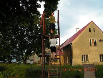Malowanie dzwonnicy