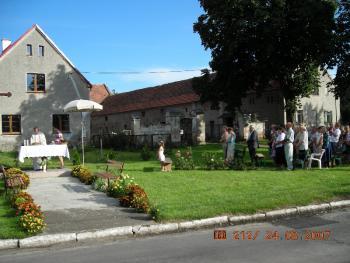 Msza św. dożynkowa 2007