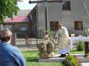 Msza św. dożynkowa 2008
