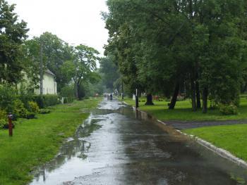 Po ulewnych deszczach