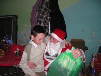 Każdy chciał coś dostać od Mikołaja - tu Marcin