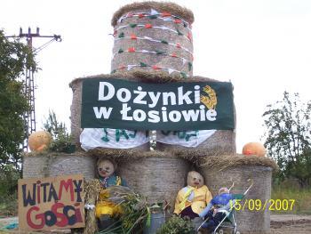 Łosiów - dożynki wojewódzkie 2007