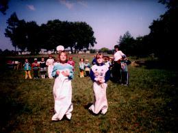 Zawody sportowe podczas Dnia Dziecka
