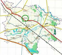 Leśniczówka - mapa Gminy Lewin Brzeski1