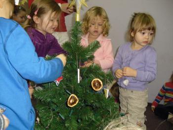 Galeria Przedszkolaki w Bibliotece na Święta