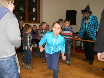 Galeria Sarny Małe - zabawa mikołajkowa