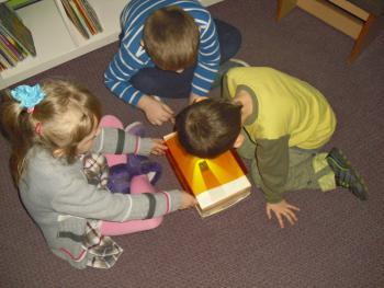 Galeria Przedszkolaki - biblioteka