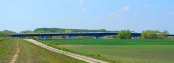 most na Odrze w Mikolinie