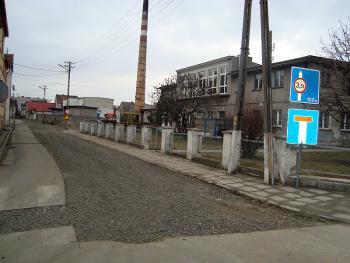 Budowa kanalizacji sanitarnej w Lewinie Brzeskim - marzec 2011 - ul. Konopnickiej