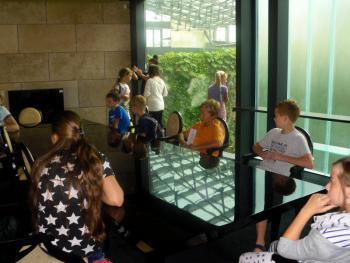 Galeria Dzieci z Łosiowa zwiedziły Teatr CAPITOL we Wrocławiu