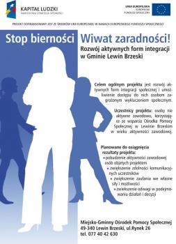 Stop bierności Wiwat zaradności!