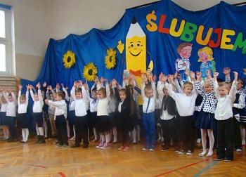 Galeria Pasowanie na uczniów Łosiów 2014