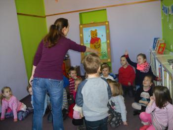 Galeria Przedszkolaki w bibliotece