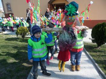 Galeria Przedszkole - przywitanie wiosny 2015
