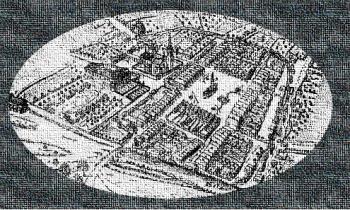 XVI wieczna mapa Lewina Brzeskiego