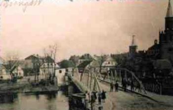 Przeprawa przez rzekę w Skorogoszczy