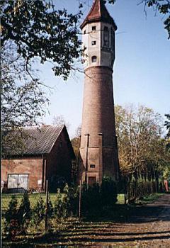 Wieża ciśnień w Skorogoszczy