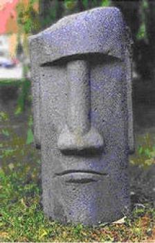 Wacław HEPNER, Głowa, - rzeźba beton - komórkowy