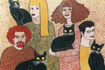 Małgorzata GAZIŃSKA, Czarne koty