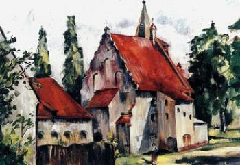 Tatiana CYBULSKA, Stary kościół w Lewinie