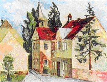 Kornelia OLEARCZUK, Uliczka w Lewinie