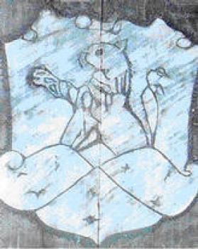 Wacław HEPNER, Herbowy lew (beton komórkowy)