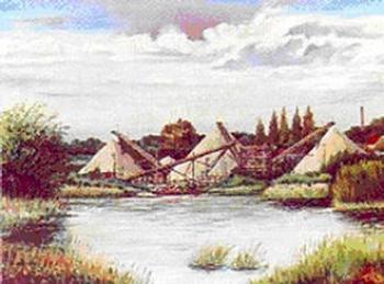 Tadeusz UFA, Piramidy lewińskie