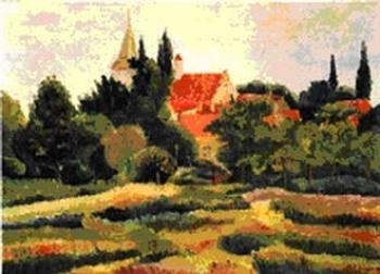 Gustaw Lis - Lewin - panorama z widokiem