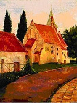 Gustaw Lis - Lewin - kościół