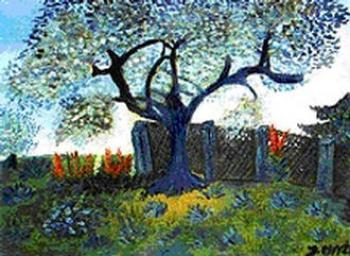 Józef Chyży - Niebieski drzewo