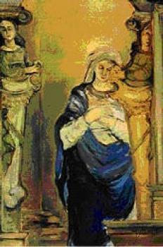 Jadwiga BAJGER, Madonna z kościoła w Lewinie
