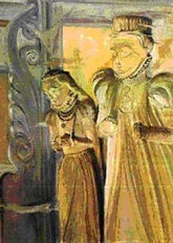 Joanna BRZEZIŃSKA,Epitafium z kościola w Lewinie Brzeskim