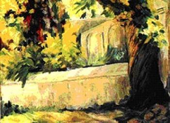 Urszula SERAFIN - NOGA, Mur w cieniu kasztana