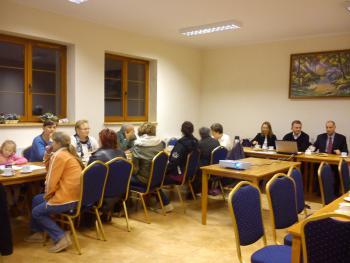 Galeria Przedwyborcze spotkanie z burmistrzem, 12. 11. 2014