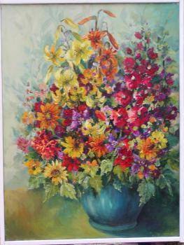 Bukiet kwiatów - MARTA OBIERZYCHLEB