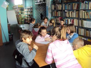 Galeria Ferie w Bibliotece Publicznej w Łosiowie