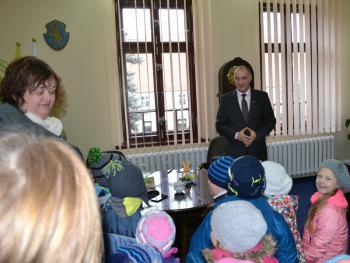 Galeria Przedszkolaki z życzeniami wielkanocnymi