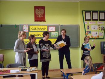 Galeria gminny konkurs ortograficzny klas III