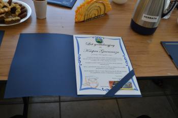 Galeria Dyplomy dla najbardziej uzdolnionych