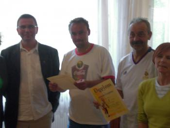 Ogólnopolski Turniej Tenisa Ziemnego w Kędzierzynie - Koźlu 2007 - wręczenie dyplonów