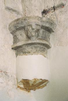 Maska w kosciele św. Antoniego w Strzelnikach