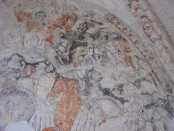 Polichronia - rycerze w kosciele św. Antoniego w Strzelnikach