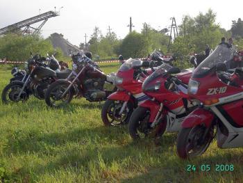 Zjazd motocyklowy w Lewinie Brzeskim