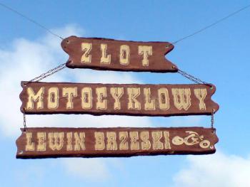I Zjazd Motocyklowy w Lewinie Brzeskim, autor Leszek Pakuła