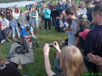 I Zjazd Motocyklowy w Lewinie Brzeskim, autor Leszek Pakuła 2