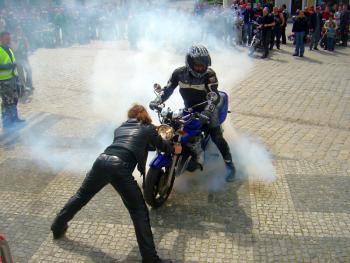 I Zjazd Motocyklowy w Lewinie Brzeskim, autor Leszek Pakuła 7