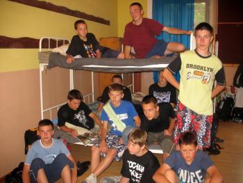 obóz wędrowny, autor A.Mościcka